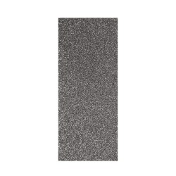Thermo-Adhesive fabric 150mm x 200mm - Glitter grey