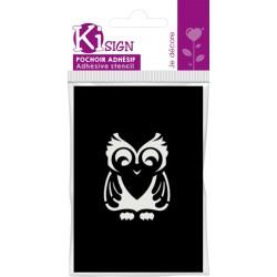 OWL ADHESIVE STENCIL