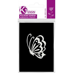 FLYING BUTTERFLY ADHESIVE STENCIL