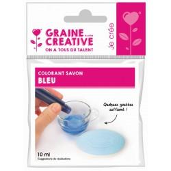 COLORING LIQUID SOAP BLUE 10 ML