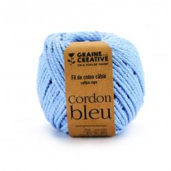 Cotton 200g Ø 2,5mm x 80m - Light blue