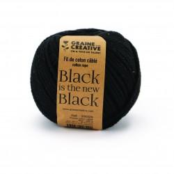 Cotton 200g Ø 2,5mm x 80m - Black