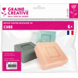 CUBE THERMOFORMED SOAP MOULD