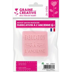 """MINI """"FABRICATION A L'ANCIENNE"""" THERMOFORMED SOAP MOULD"""