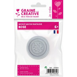 MINI ROSE THERMOFORMED SOAP MOULD