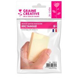 Soap mould 70mm x 45mm x 10mm - Rectangle