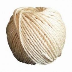 Sisal ball ⌀ 2,5mm - 30m - 100g