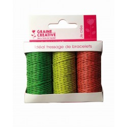 3 SPOOL FOREST HEMP CORD 3x20m