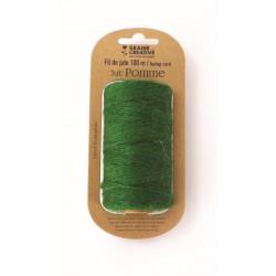 Burlap cord ? 2mm x 100m - Green