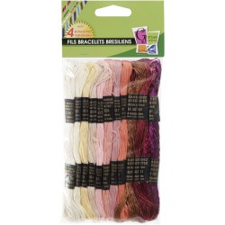 12 THREAD LOVE METAL FOR BRESILIAN KNITTING