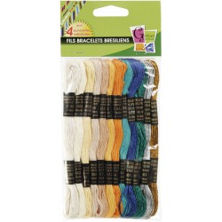12 THREAD OCEAN METAL FOR BRESILIAN KNITTING
