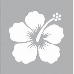 Mini stencil 8cm x 8cm - Hibiscus