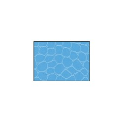 Pellaq Croco 200g 68,5cm x 100cm - Light blue