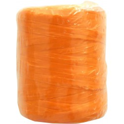 Synthetic raffia 125g - Orange 153