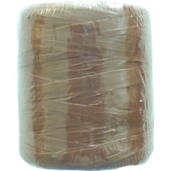 Synthetic raffia 125g - Brown 163