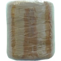 SYNTHETIC RAFFIA 40G BROWN 163