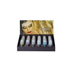 Display roll on body glitter 21ml (24 pcs)