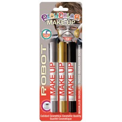 3 ROBOT MAKE UP STICKS BLISTER