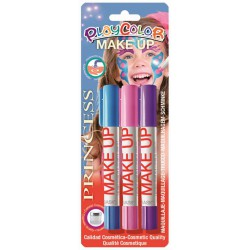 3 PRINCESS MAKE UP STICKS BLISTER
