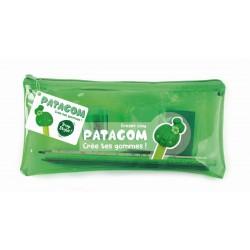 PENCIL CASE PATAGOM GREEN - CACTUS