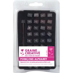 Leather stamp set