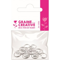 PACK OF 20 RINGS SILVER BREEZES