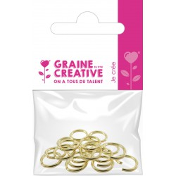 PACK OF 20 RINGS GOLD BREEZES
