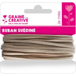 SUEDINE CORD BROWN 5M