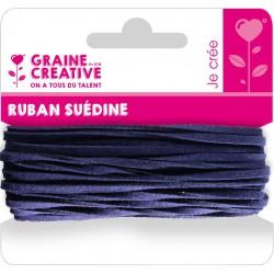 SUEDINE CORD MARINE BLUE 5M