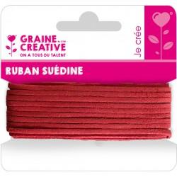 SUEDINE CORD RED 5M