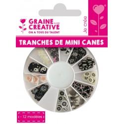 SLICES MINI CANES BLACK & WHITE ASS 12 MODELS