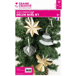 XMAS DECORATION THERMOFORMED MOULD N°1