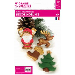 XMAS DECORATION THERMOFORMED MOULD N°2
