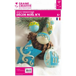XMAS DECORATION THERMOFORMED MOULD N°4