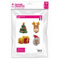 PACK OF 4 MINI XMAS MOULDS