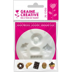 Mini silicone mould ø 70mm - Sweets & cake