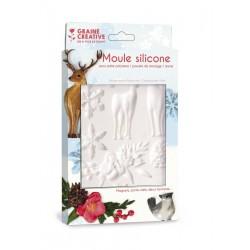 Silicone mold 13cm x 20cm - Winter