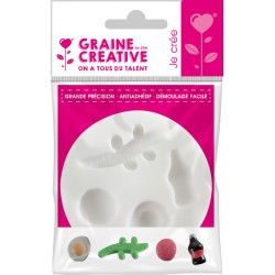 MINI SILICONE MOULD - SWEETS  Ø70MM