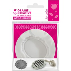 Mini silicone mould ø 70mm - Camee simple