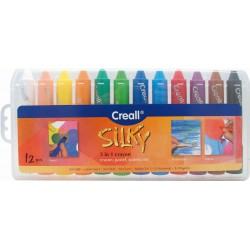 """CREALL SILKY 12 x 3 IN 1"""" CRAYONS"""