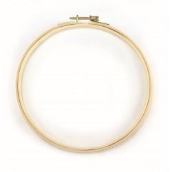 Embroidery hoop wood Ø180mm