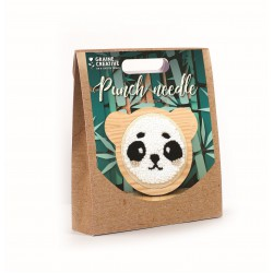 Punch Needle kit Ø 150 mm - Panda