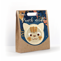 Punch Needle kit Ø 150 mm - Cat