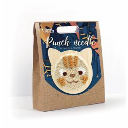 Punch Needle kit Ø 150 mm - Cat