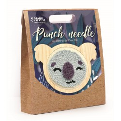 Punch Needle kit Ø 150 mm - Koala