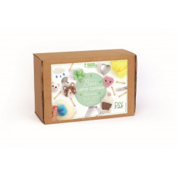 Box carded wool 250g