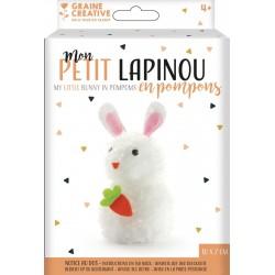 DIY Pompon kit - Rabbit