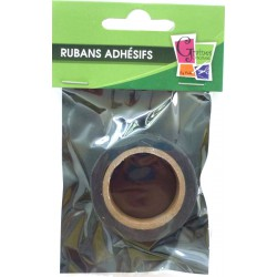 1 ADHESIVE TAPE BLACK WITH DOTS 15mmx10m