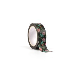 Deco tape 15mm x 10m - Tropical vibes (1 pc)