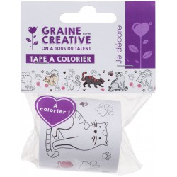 CATS COLORING TAPE 46mmx5m